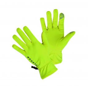 Core Stretch Smart II Gloves Fluro Yellow