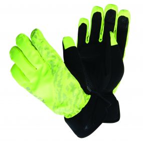 Illume Cycle Gloves Fluro Yellow