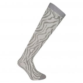 Adult Footloose II Ski Socks Silver Flash
