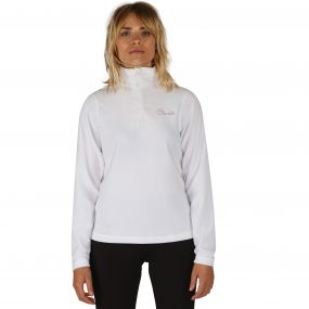 Women's Freeze Dry II Half Zip Fleece White
