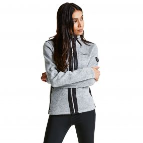 Women's Cajole Luxe Ski Midlayer Sweater Mid Grey