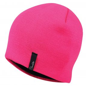 Women's Tactful Beanie Hat Cyber Pink
