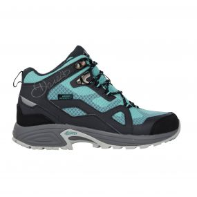 Women's Cohesion Mid Waterproof Hiking Boots Ebony/Aruba