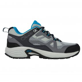 Women's Cohesion Low Waterproof Hiking Shoes Alumin/FluBl