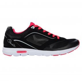 Women's Powerset Gym Shoes Black/NeonPi
