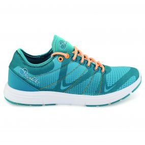 Women's Fuze Gym Trainers Sea Breeze Orange Burst