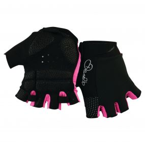 Women's Grasp II Mitt Black/Cyber Pink