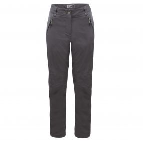 Women's Melodic Stretch Trousers Ebony Grey