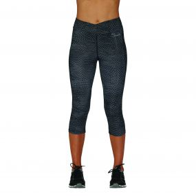 Articulate 3/4 fitness leggings Ebb and Flow Print