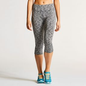 Women's Eclectic 3/4 Tight Grey