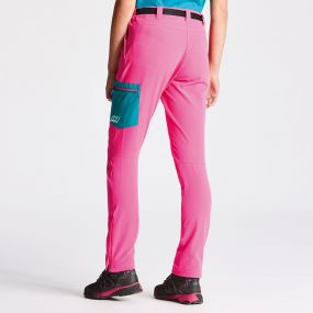 Appressed Trousers Cyber Pink Shoreline Blue