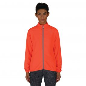 Women's Blighted Windshell Jacket Fiery Coral