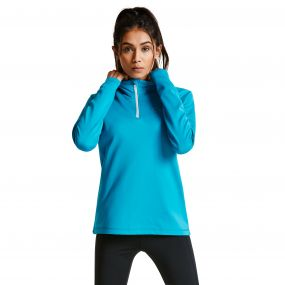 Women's Loveline III Core Stretch Midlayer Sea Breeze