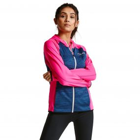 Women's Courtesy II Core Stretch Midlayer Jacket CybrPk/Admrl