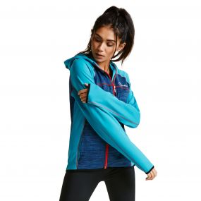 Women's Courtesy II Core Stretch Midlayer Jacket SeaBrz/Admrl