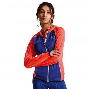 Women's Courtesy II Core Stretch Midlayer Jacket FieryC/Clema