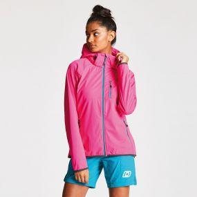 Women's Tractile Softshell Jacket Cyber Pink