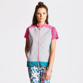 Duality Vest Cyber Pink/ Ash