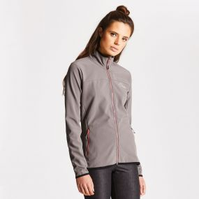 Women's Centra Softshell Smokey Grey