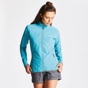 Women's Centra Softshell Sea Breeze