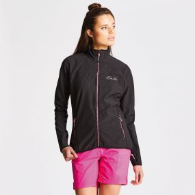 Women's Centra Softshell Black