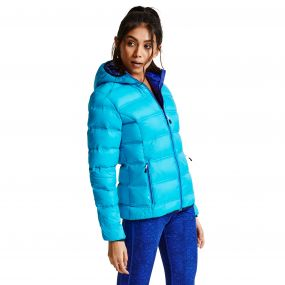 Women's Lowdown Down Fill Insulated Jacket Sea Breeze