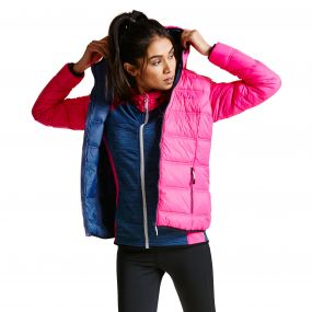 Women's Lowdown Down Fill Insulated Jacket Cyber Pink