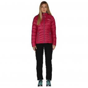 Cast Down Jacket Berry Pink