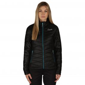 Spin Out Hybrid Jacket Black
