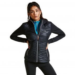 Women's Composite Hybrid Insulated Jacket Black