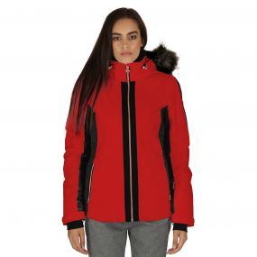 Captivate Ski Jacket True Red
