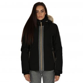 Captivate Ski Jacket Black