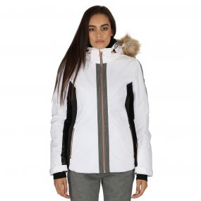 Captivate Ski Jacket White
