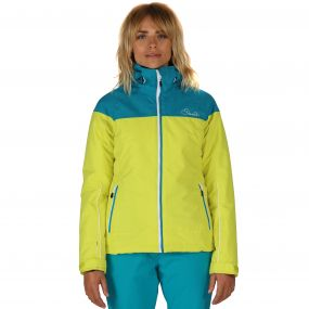 Beckoned Ski Jacket Enamel Blue Neon