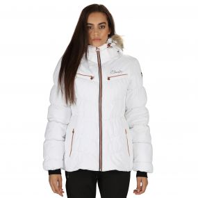Refined II Ski Jacket White
