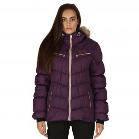 Refined II Ski Jacket Shadow Purple
