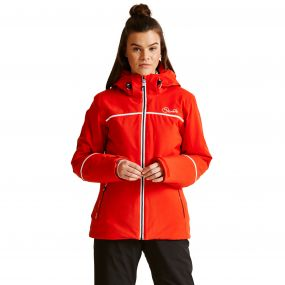 Women's Effectuate Ski Jacket High Risk Red