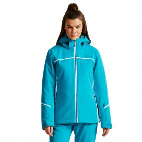 Women's Effectuate Ski Jacket Sea Breeze Blue