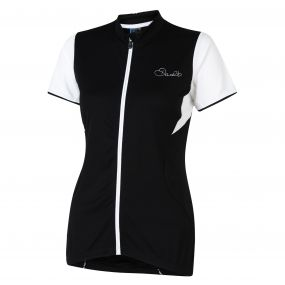 Bestir Cycle Jersey Black