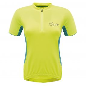 Subdue Cycle Jersey Fluro Yellow