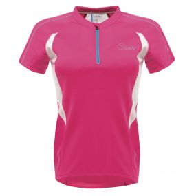 Configure Cycle Jersey Electric Pink