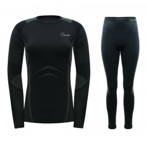 Womens Zonal III Base Layer Set Black