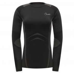 Womens Zonal III Long Sleeve T Black