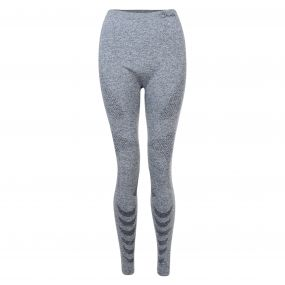 Womens Zonal III Legging Charcoal Grey