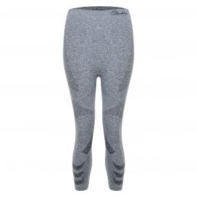 Women's Zonal III 3/4 Legging Base Layer Pants CharcoalGrey
