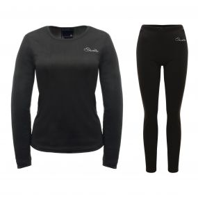 Womens Insulate Base Layer Set Black