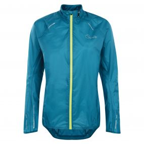 Womens Ensphere Packaway Jacket Enamel Blue
