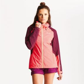 Recourse II Jacket Neon Pink/Lunar Purple