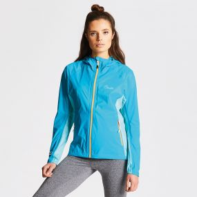 Women's Opacus Jacket Sea Breeze Bahama Blue