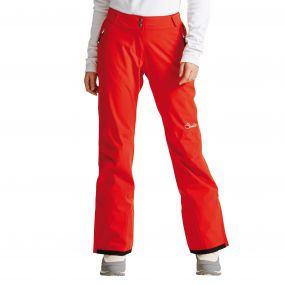 Women's Stand For Ski Pants High Risk Red